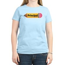 School Pencil Principal T-Shirt