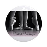 Ballet Boutique Ornament (Round)