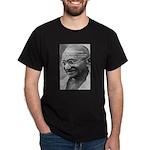 Power of Truth Gandhi Black T-Shirt