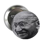 Power of Truth Gandhi Button