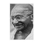 Power of Truth Gandhi Mini Poster Print