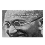 Power of Truth Gandhi Postcards (Package of 8)