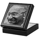 Power of Truth Gandhi Keepsake Box