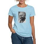 Power of Truth Gandhi Women's Pink T-Shirt