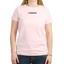 I Love Endorphins Women's Pink T-Shirt