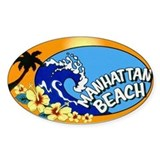 Manhattan Beach Decal