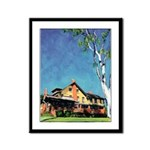 Marston House by Riccoboni Framed Panel Print