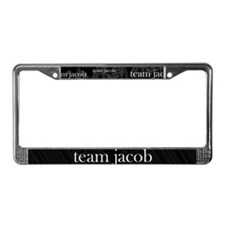Team Jacob Werewolf Forest License Plate Frame