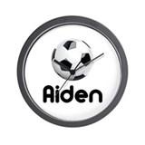 Soccer Aiden Wall Clock