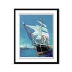 Star of India by Riccoboni Framed Panel Print