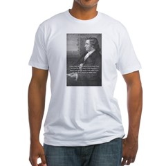 Goethe on Pure Thought Fitted T-Shirt