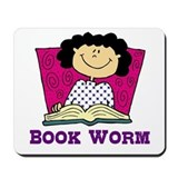 Book Worm Mousepad