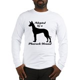 ADOPTED by Pharaoh Hound Long Sleeve T-Shirt