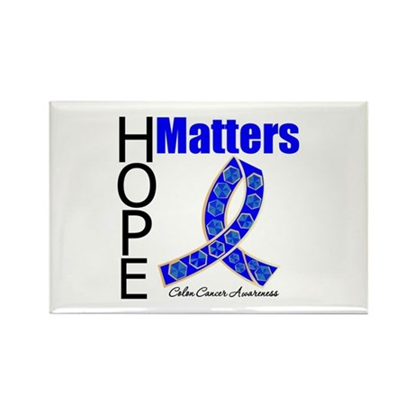 HopeMatters ColonCancer Rectangle Magnet