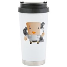 John Locke is the Smoke Monster Ceramic Travel Mug