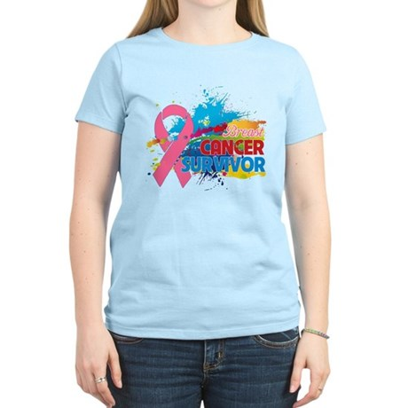 Splash Breast Cancer Women's Light T-Shirt