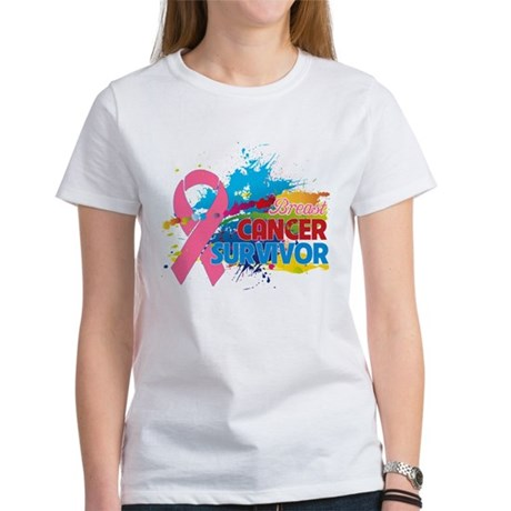 Splash Breast Cancer Women's T-Shirt