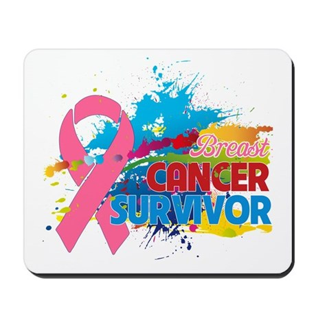 Splash Breast Cancer Mousepad