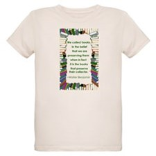 Walter Benjamin on Books T-Shirt
