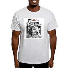 RTF Stockings Ash Grey T-Shirt