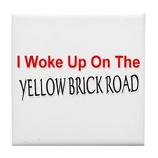 Yellow Brick Road Tile Coaster