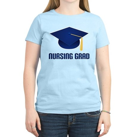 Blue Nursing Grad Women's Light T-Shirt