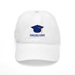 Blue Nursing Grad Cap