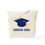 Blue Nursing Grad Tote Bag
