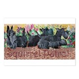 Scottish Terrier Squirrel Pat Postcards (Package o