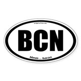BCN auto decal bacon Decal