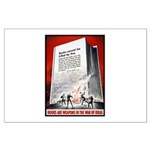 Books Are Weapons Poster Art Large Poster