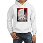 Books Are Weapons Poster (Front) Hooded Sweatshirt