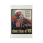 Steer Clear of VD Poster Art Rectangle Magnet (10