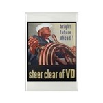 Steer Clear of VD Poster Art Rectangle Magnet