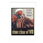 Steer Clear of VD Poster Art Postcards (Package of