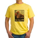 Steer Clear of VD Poster Art Yellow T-Shirt