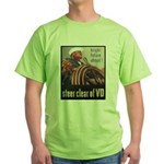 Steer Clear of VD Poster Art Green T-Shirt