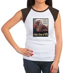 Steer Clear of VD Poster Art Women's Cap Sleeve T-