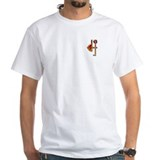 DJ^2 Ichabod Cranium White T-shirt