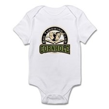 Cornhole Throwing Club Infant Bodysuit