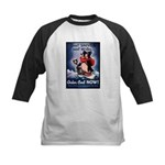 Don't Shiver Winter Poster Art Kids Baseball Jerse