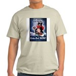 Don't Shiver Winter Poster Art Ash Grey T-Shirt