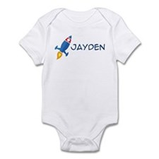 Jayden Rocket Ship Infant Bodysuit