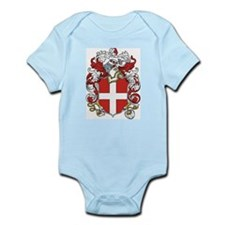 Savoy Coat of Arms Infant Creeper
