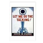 Big Guns Talk Poster Art Postcards (Package of 8)