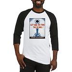 Big Guns Talk Poster Art Baseball Jersey