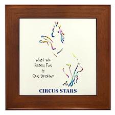 Circus Stars Framed Tile