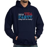 Tea Party 2010 Elections Hoodie