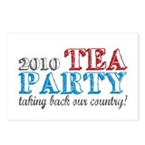 Tea Party 2010 Elections Postcards (Package of 8)