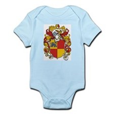 Saxton Coat of Arms Infant Creeper